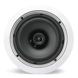 "Single 6.5"" 2-Way 8Ω 50W RMS In-Ceiling Speaker (Pair)"