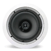 "Single 6.5"" 2-Way 8&#937; 50W RMS In-Ceiling Speaker (Pair) "