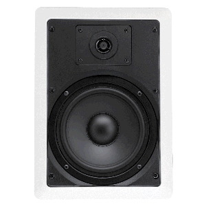 "Single 6.5"" 2-Way 8Ω 50W RMS In-Wall Loudspeaker (PAIR)"