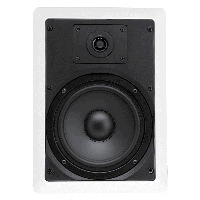 "Single 6.5"" 2-Way 8&#937; 50W RMS In-Wall Loudspeaker (PAIR)"
