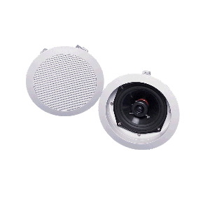 "Single 5.25"" 2-Way In Ceiling Loudspeaker (PAIR)"