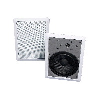 "Single 6.5"" 2-Way 8Ω 40W RMS In-Wall Loudspeaker (PAIR)"