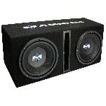 "MTX Mobile Dual 10""  Vented Enclosure and Amplifier Combo"