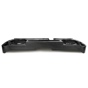 "Dual 10"" Amplified Enclosure for Dodge Dakota Extended Cab 1997-2004"