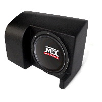 "Single 10"" 4Ω 200W RMS Loaded Enclosure for Honda Ridgeline 2006-2013"