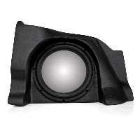 "Single 10"" Unloaded Enclosure for Chevrolet Silverado 1500/2500 Extra Cab 2007-2013"