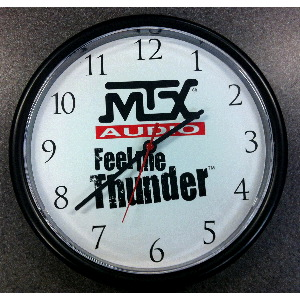 MTX Logo Analog Clock