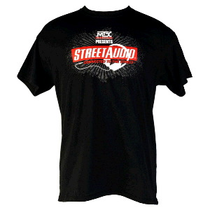 Black MTX StreetAudio T-Shirt