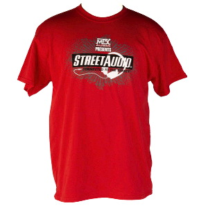 Red MTX StreetAudio T-Shirt