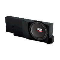 "Single 12"" 4Ω 200W RMS Loaded Enclosure for Ford F-150 Crew Cab/Ext Cab 2004-2008"
