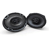"7""x10"" 3-Way 4&#937;, 125W RMS Coaxial Speaker"