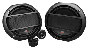 Picture of Terminator TNS65 6.5 inch 2-Way 45W RMS 4Ω Component Speaker Pair