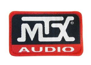 Picture of MTX Audio Logo Patch - 3.25 inch x 2 inch