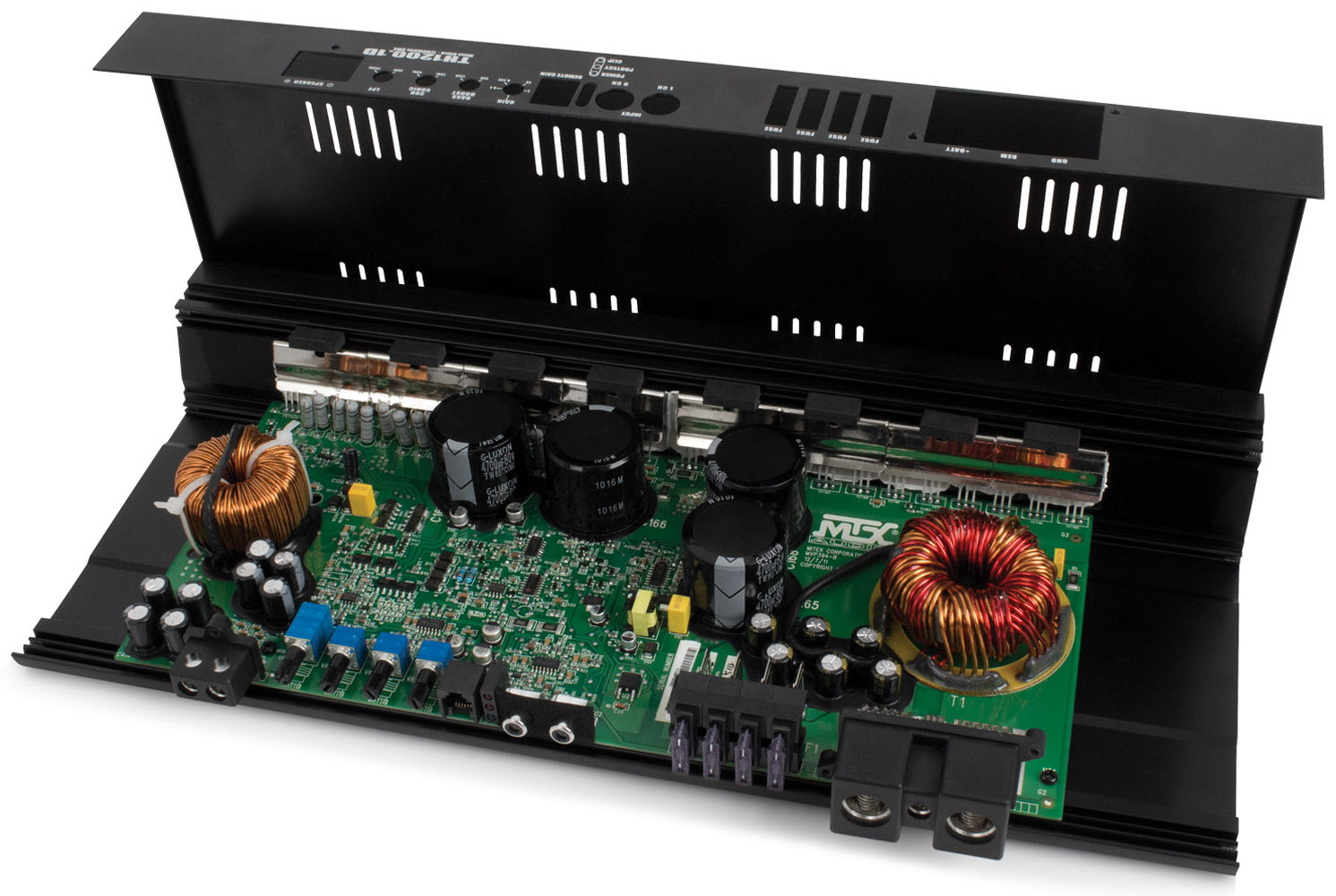 TH Series TH1200 1D 1200W RMS Mono Block Class D Amplifier