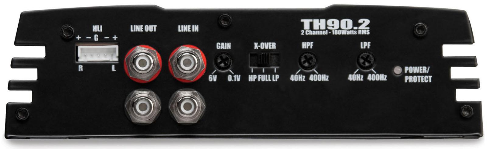 89 2 Channel Amplifier With Dual Electronics Xpr82d 1 High 000watt 24volt Truck Bus Rv Bridgeable Mosfet Th902 Th Series 360 Watt Rms Class Ab