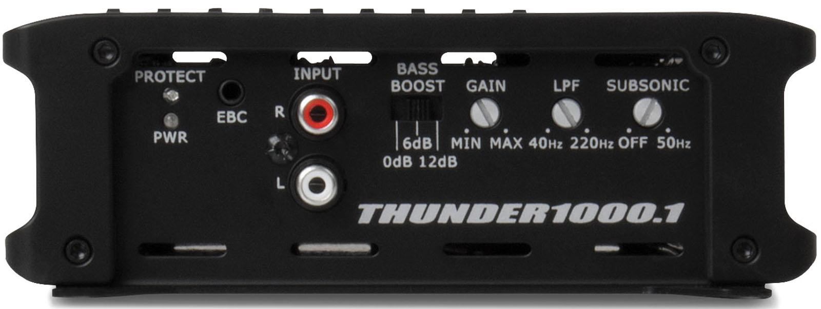 Thunder1000 1 Thunder Series 1000 Watt Class D Mono Block