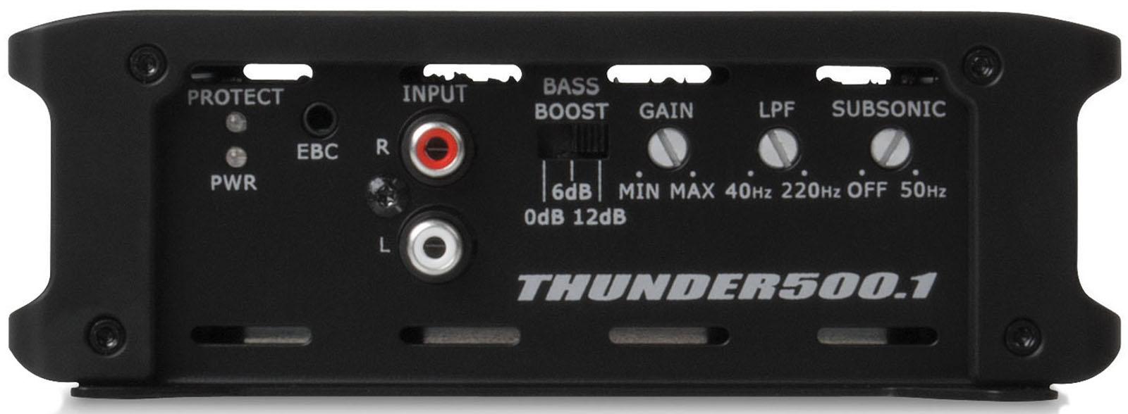 THUNDER Series 500-Watt RMS Class D Mono Block Amplifier | MTX Audio -  Serious About Sound®