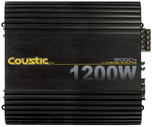 Picture of 300-Watt RMS 4-Channel Class A/B Amplifier