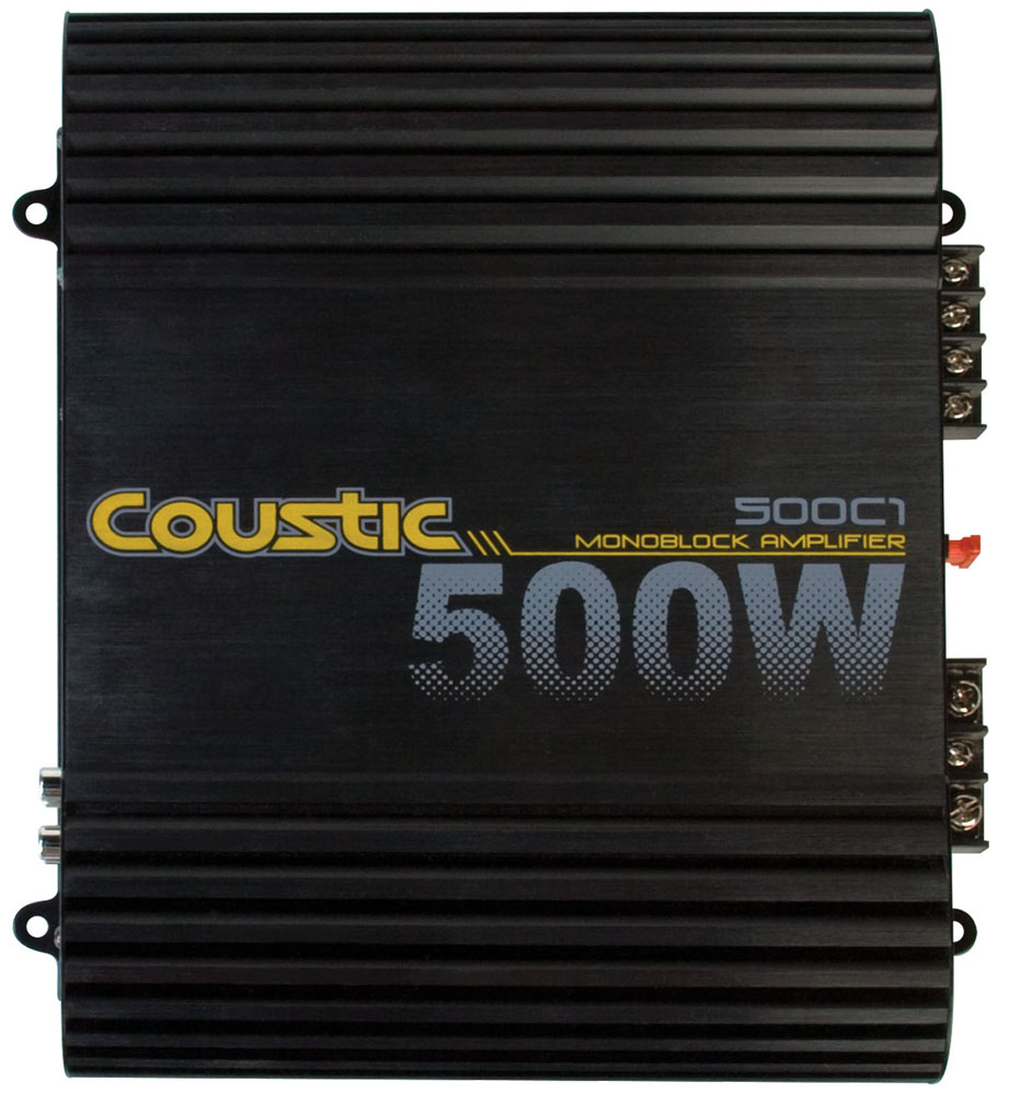 Coustic 160 Watt Rms Mono Block Class Ab Amplifier Mtx Audio Home Fuse Box Amps Serious About Sound
