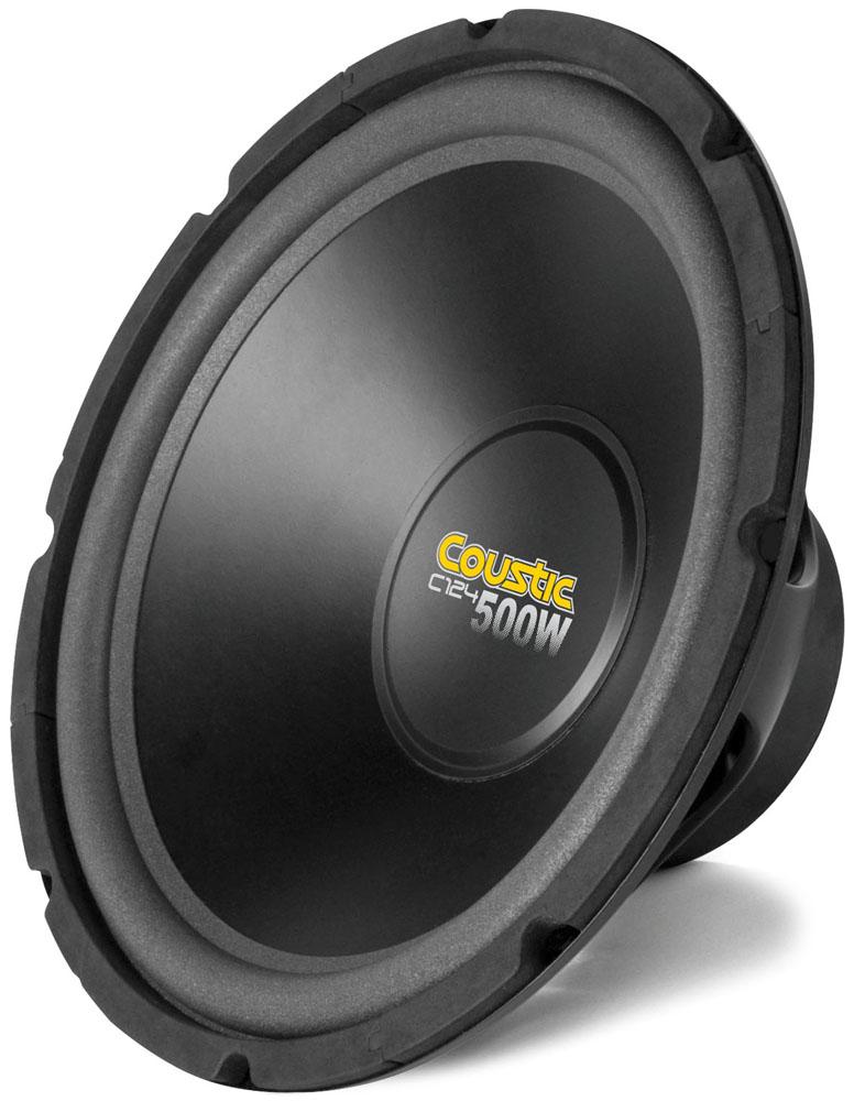 """Coustic 12"""" 4Ω Single Voice Coil Subwoofer   MTX Audio"""