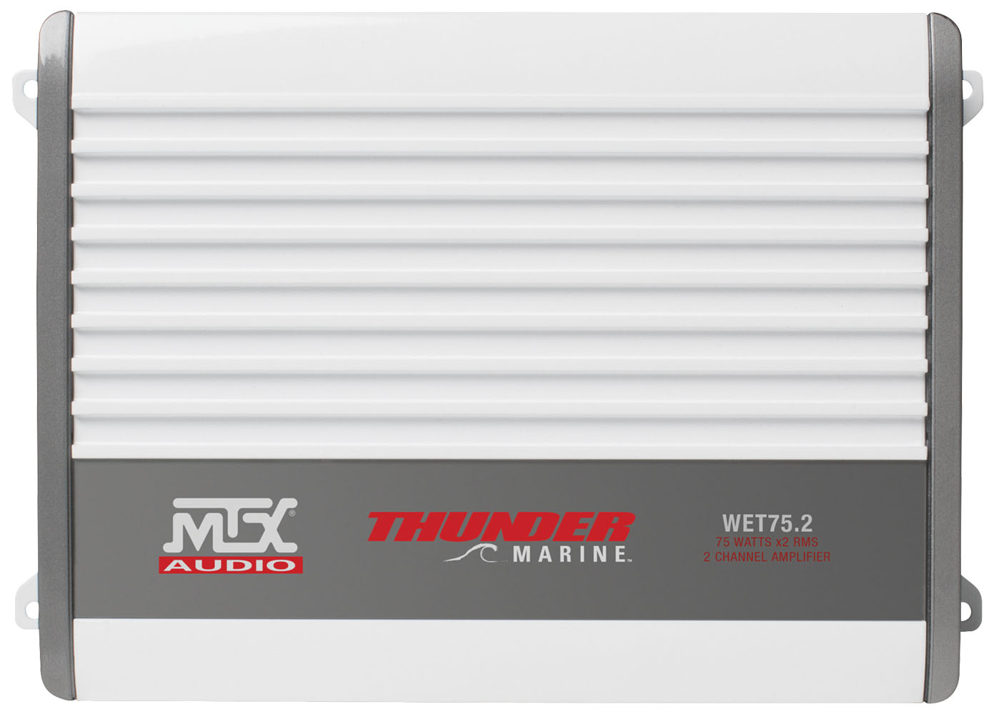 Wet Series 200 Watt Rms 2 Channel Class Ab Marine Amplifier Mtx 45 B Audio Power Serious About Sound