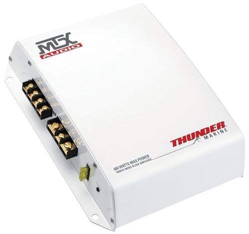 Picture of Thunder Marine TM601D 200W RMS Mono Block Class D Marine Amplifier