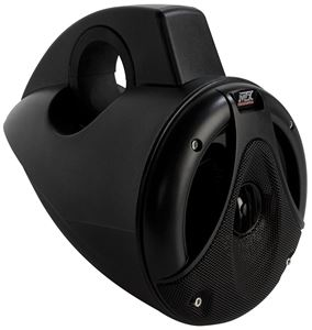 Picture of Thunder Marine TM652WB-B 6.5 inch 75W RMS 4 Ohm Wakeboard Tower Coaxial Speaker Pair - Black