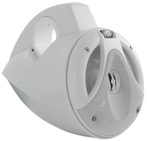 Picture of Thunder Marine TM652WB 6.5 inch 75W RMS 4 Ohm Wakeboard Tower Coaxial Speaker Pair - White