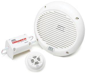 Picture of Thunder Marine TM6001OE 6.5 inch 2-Way 75W RMS 4 Ohm Component Marine Speaker Pair