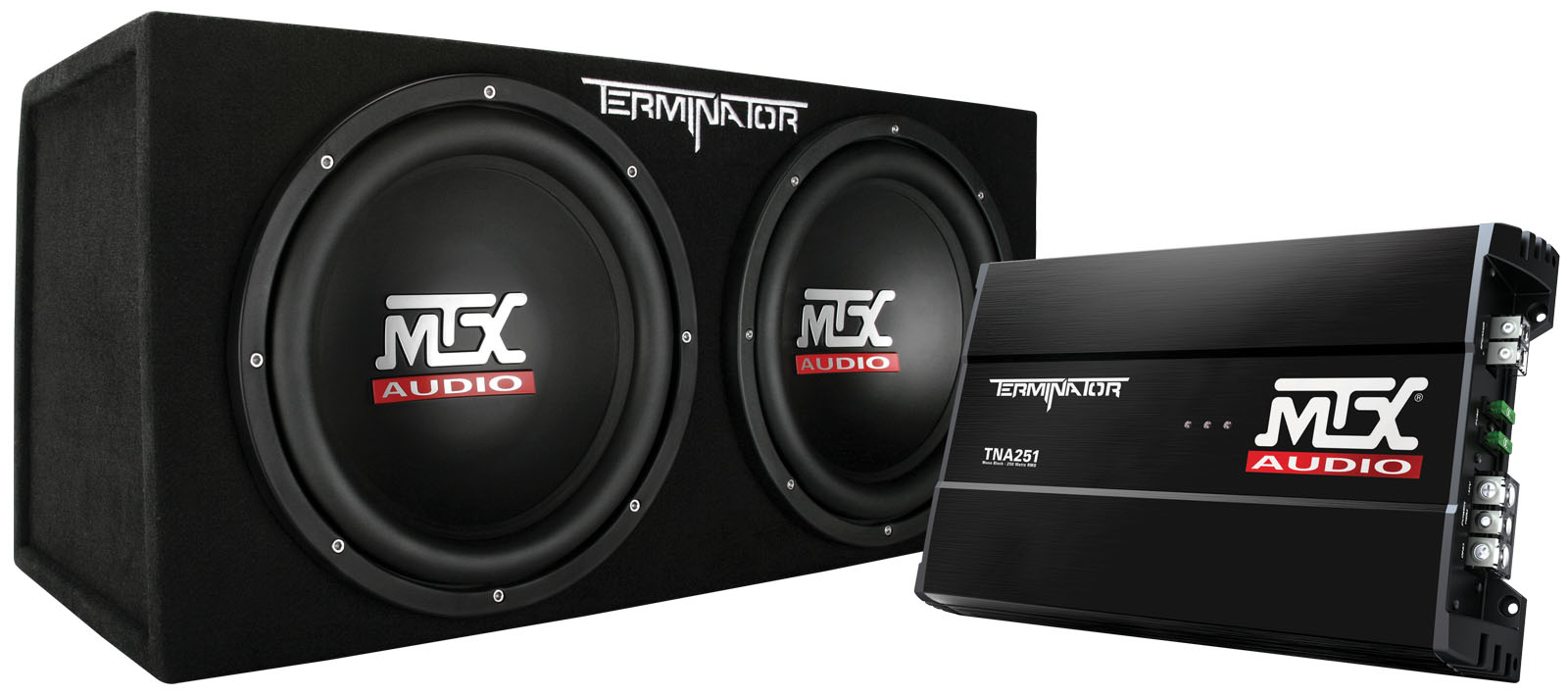 Terminator Tnp212d2 Dual 12 Inch 400w Rms Sealed Enclosure And Mono Subwoofer Amplifier Wiring Diagrams Picture Of Block