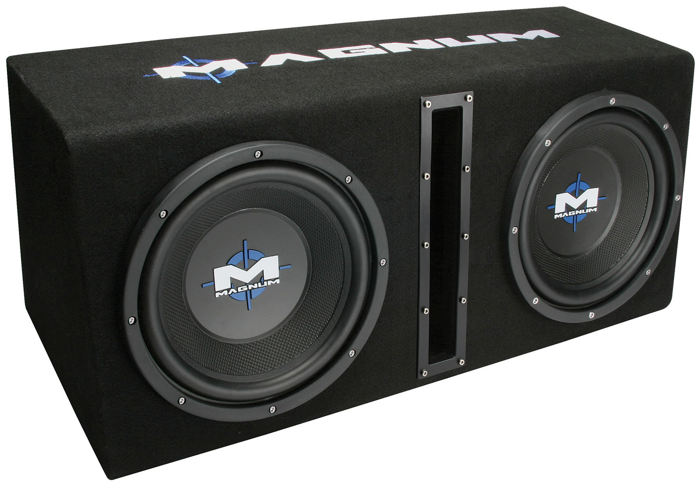 Mb210sp dual 10 subwoofer enclosure and amplifier party pack picture of magnum mb210sp dual 10 inch 400w rms vented enclosure with amplifier publicscrutiny Images