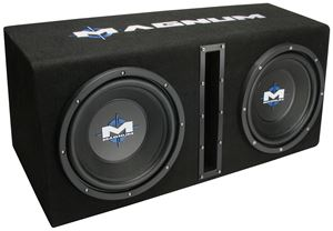 Picture of Magnum MB210SP Dual 10 inch 400W RMS Vented Enclosure with Amplifier