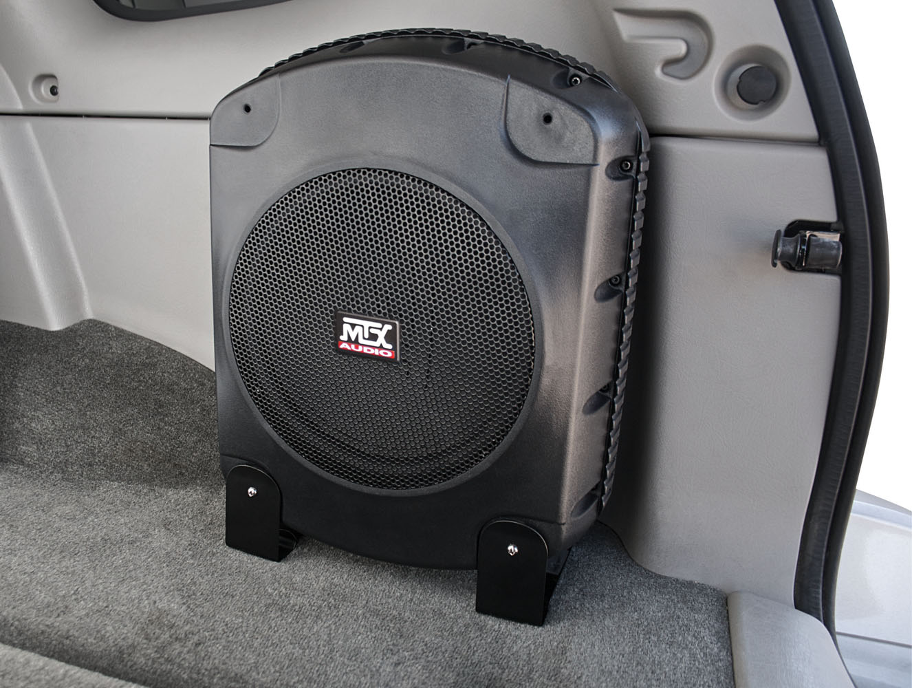 Xtl110p Powered Car Subwoofer Enclosure Mtx Audio