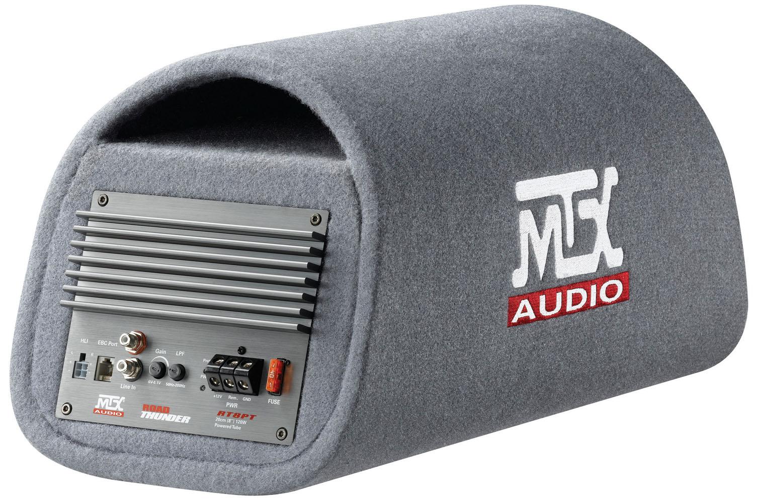 Rt8pt Amplified 8 Quot Subwoofer Enclosure Mtx Audio