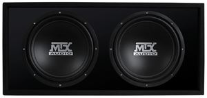 Picture of RoadThunder RTL12X2D Dual 12 inch 500W RMS 2 Ohm Vented Loaded Enclosure