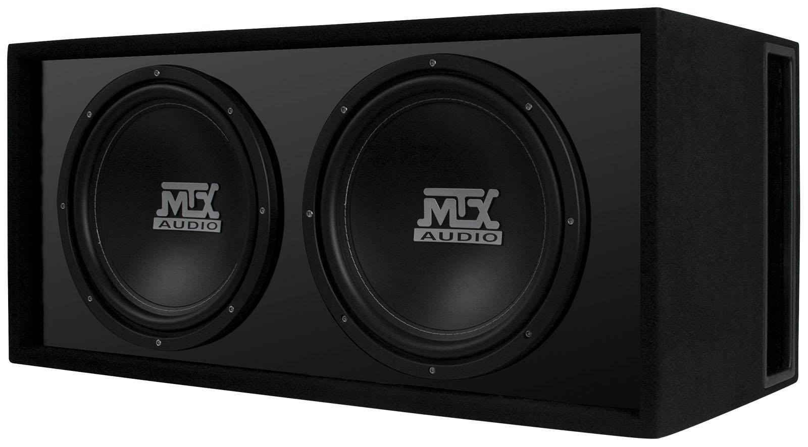 Rtl12x2d Dual 12 Quot Car Subwoofer Enclosure Mtx Audio