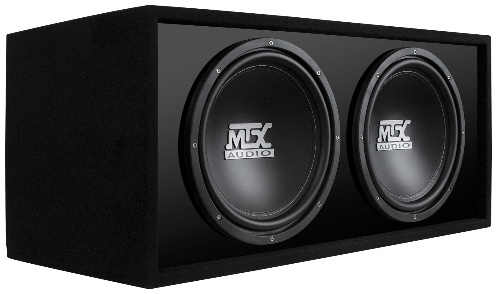 Rtl12x2d Dual 12 Quot Car Subwoofer Enclosure Mtx Audio
