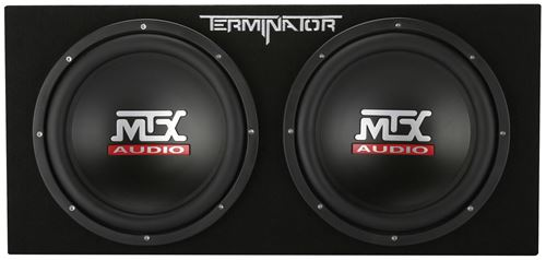 """Picture of Dual 12"""" 400-Watt RMS Sealed Subwoofer Enclosure"""