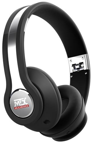 MTX iX1 BLACK On Ear Headphones - Black