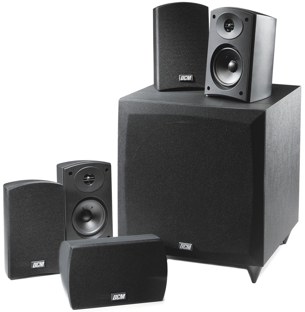 CINEMA1 DCM 5.1 Home Theater Speaker System