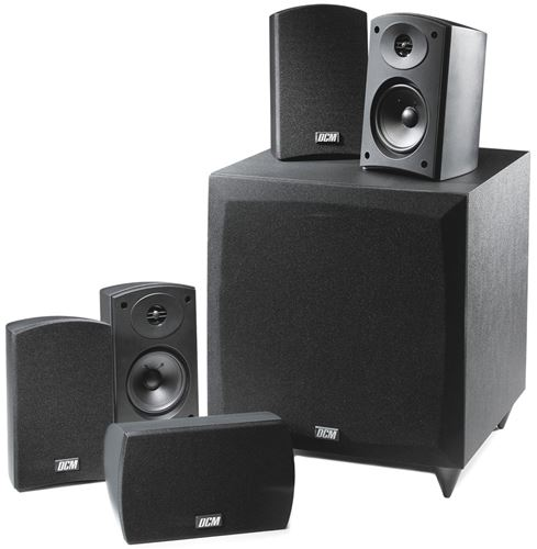 Picture of DCM CINEMA1 400W RMS 5.1 Home Theater Speaker System