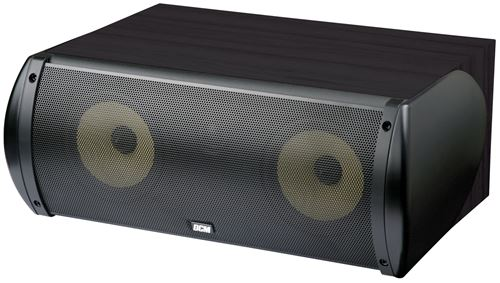 Picture of DCM TFE60C-B 6.5 inch 2-Way 100W RMS 8 Ohm Center Channel Speaker - Black Finish
