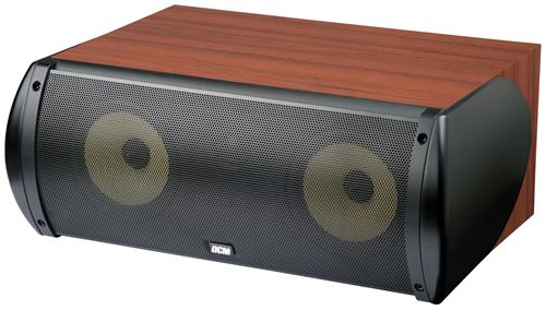 Picture of DCM TFE60C 6.5 inch 2-Way 100W RMS 8 Ohm Center Channel Speaker - Cherry Finish