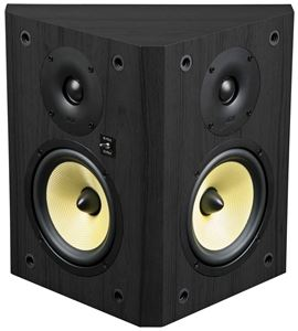 TP160BDP-B Black Bi-Pole/Di-Pole Home Theater Bookshelf Speaker