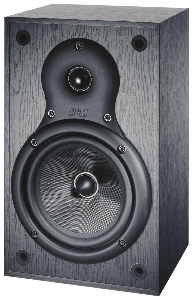 DCM16S 65 DCM 8 Ohm Bookshelf Speaker Black