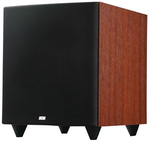 Picture of DCM TB1010-CH 10 inch Cherry Finish Powered Subwoofer