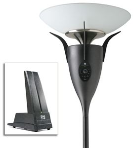 Picture of Soundolier DUO-CP by MTX Speaker Lamp with Wireless Transmitter