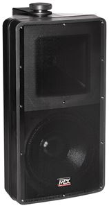 AW82-B All-Weather Black Speaker Front
