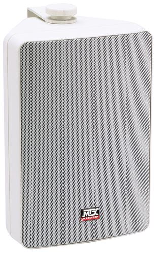 AW52-WH All-Weather White Speaker Front