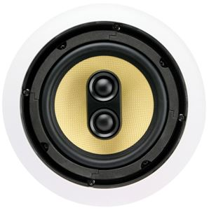 Picture of DCM TD622C 6.5 inch 2-Way 60W RMS 8 Ohm In-Ceiling Speaker with Stereo Input